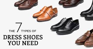 the 7 types of dress shoes you need