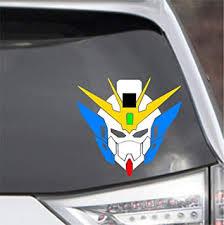 Amazon Com Popculturesigns Gundam Wing Zero Anime Vinyl Decal Sticker Car Laptop Wall Decor Automotive