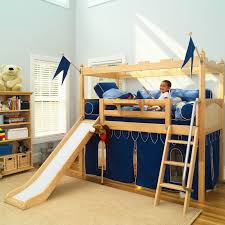 Twelve Kids Bedroom Ideas For Indoor Fun Bunk Bed With Slide Low Loft Beds Bed With Slide