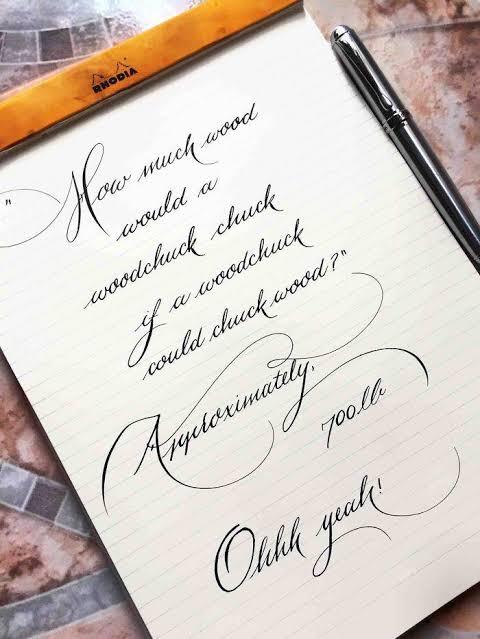 Indah dan Rapi, Siapa Pemilik Tulisan Tangan Ini?