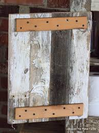 Beyond The Picket Fence Farmhouse Cabinet Made From Chippy Picket Fence