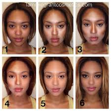 contouring makeup tutorial dark skin