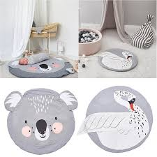 2020 Infant Animal Print Play Mats Kids Crawling Carpet Floor Rug Baby Bedding Rabbit Blanket Cotton Game Pad Children Room Mat 95cm J190508 From Tubi10 16 25 Dhgate Com