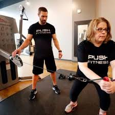 push fitness personal trainers in