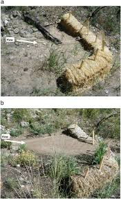 Effectiveness Of Straw Bale Check Dams At Reducing Post Fire Sediment Yields From Steep Ephemeral Channels Sciencedirect