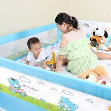 Newborn Playpens Baby Bed Fence Children Bed Guard Kids Playpens Infant Safety Fences Gates Doorways 1 2 1 5 1 8 2 Meters Finndet No