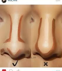 makeup how to do nose contour