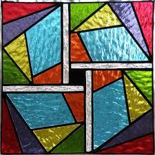 stained glass window pattern sin
