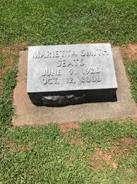 Marietta Smith Seats (1926-2006) - Find A Grave Memorial