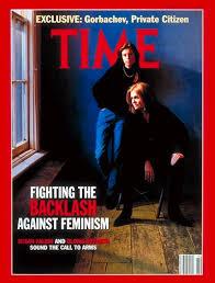 TIME Magazine Cover: Susan Faludi & Gloria Steinem - Mar. 9, 1992 - Gloria  Steinem - Feminism - Women