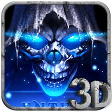 3d grim reaper theme for android free