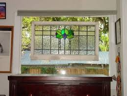 stained glass window hangings also