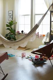 25 Relaxing Ideas To Rock A Hammock Indoors Digsdigs