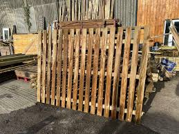 Used Slat Fence Panels 6ft X 8ft 20 Each See Ad In Minster On Sea Kent Gumtree