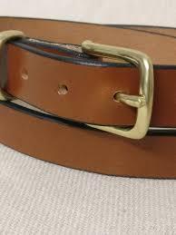 hazel english bridle leather belt