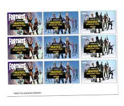 Cumpleanos Fortnite Gratis Extraordinario Invitaciones De Fortnite