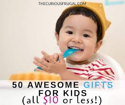 50 gifts for kids under 10 that kids