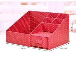 diy makeup organizer cardboard box