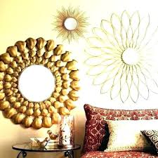 set of decorative mirrors small