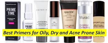 good makeup primer for acne e skin