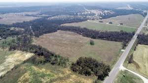 JP King Land Auction Aerial Photography in Morgan Mill, TX  