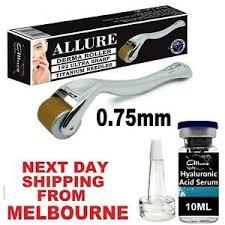 hyaluronic acid serum derma roller kit