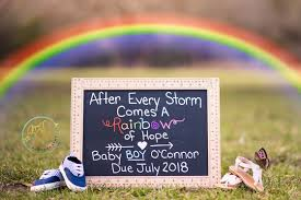 powerful pregnancy announcements for a rainbow baby cafemom