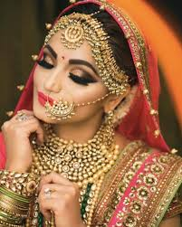 latest indian bridal makeup saubhaya