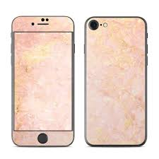 Apple Iphone 8 Skin Rose Gold Marble By Marble Collection Decalgirl