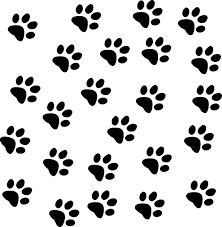 free cat paw print backgrounds