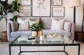 how to style a coffee table the everygirl