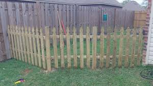 Building A Semi Permanent Fence 6 Steps Instructables