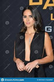 Adria Arjona editorial stock photo. Image of talent - 166721623