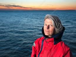 Hilary Kennedy, British oceanographer - Stock Image - C030/8693 - Science  Photo Library