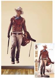 John Wayne Western Image Life Size Removable Wall Sticker Decal Starbase Atlanta