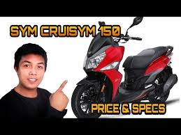sym cruisym 150 and specs in the