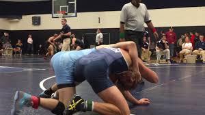 Trent Johnson (Messiah) vs. Adam Peris (Messiah) 149lbs. at Messiah Open  11/5/16 - YouTube