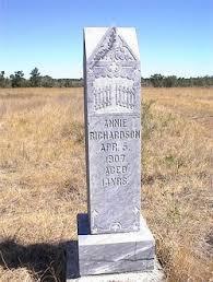 Annie Myrtle Richardson (1892-1907) - Find A Grave Memorial
