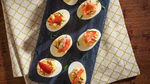 Lobster Devilled Eggs Recipe