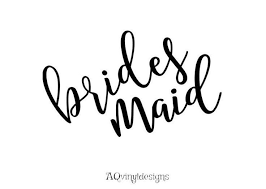 Bride And Bridesmaid Vinyl Decals Bachelorette Bachelorette Etsy Wedding Decal Gifts For Wedding Party Brides And Bridesmaids