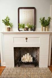 empty fireplace ideas empty