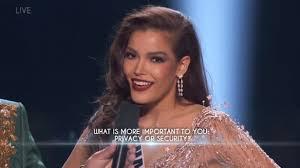 Miss Universe Fahsai Lands Top 5, Stirs Debate on Gov't Surveillance