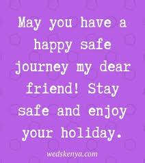 safe journey messages wishes in weds