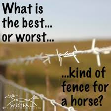 What Is The Best Kind Of Fence For A Horse Pasture Official Site Of Stacy Westfall