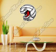 Volleyball Beach Ball Angry Face Funny Wall Sticker Room Interior Decor 22 X25 For Sale Online