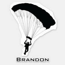 Skydiving Stickers 100 Satisfaction Guaranteed Zazzle