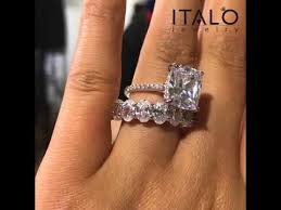 italo jewelry clic cushion cut lab