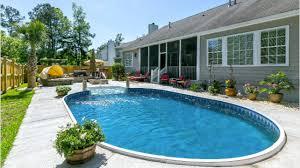 ultra modern pool patio adds