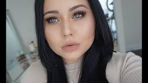 full face makeup tutorial for pale skin
