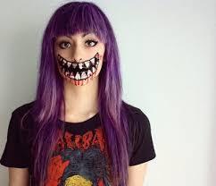 makeup nice scary image